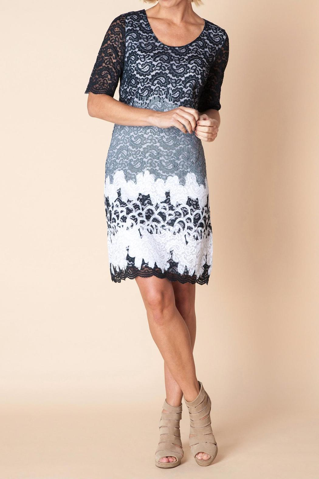 Yest Eclipse Lace Dress - Front Cropped Image