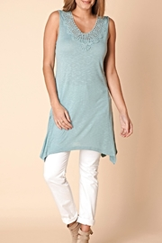 Yest Embroidered Tunic Dress - Product Mini Image