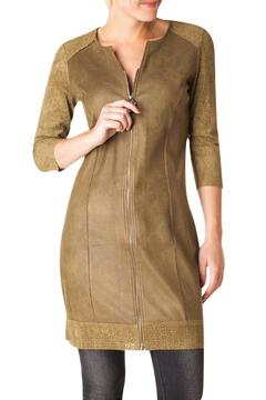 Yest Faux Suede Dress - Product List Image