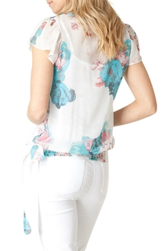 Yest Floral Chiffon Blouse - Alternate List Image