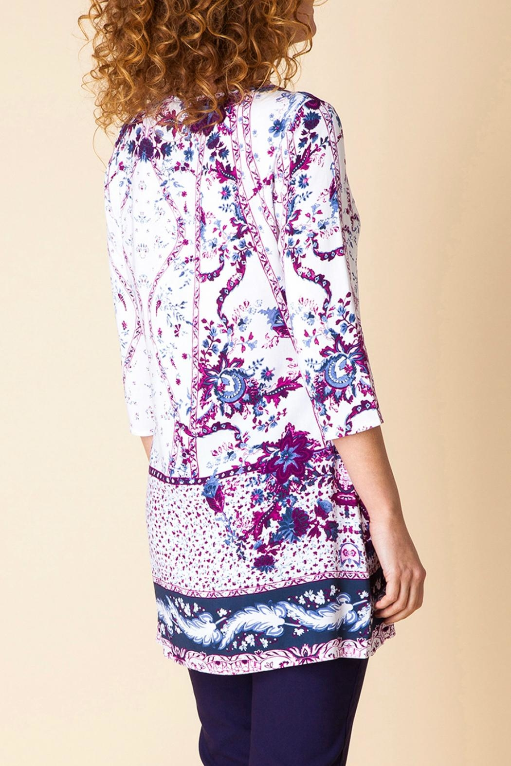 Yest Floral Print Tunic - Front Full Image