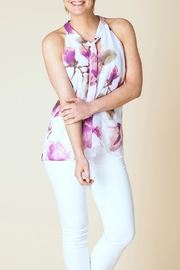 Yest Floral Tie Blouse - Product Mini Image
