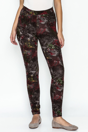 Yest Flower Stretch Pants - Product Mini Image