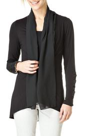 Yest Flowing Chiffon Cardigan - Product Mini Image
