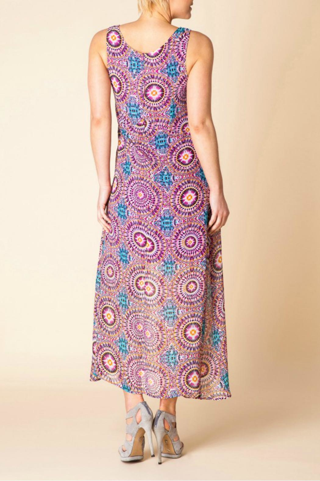Yest Flowy Maxi Dress - Side Cropped Image