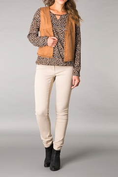 Yest Fuax Suede Vest - Product List Image
