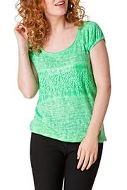 Yest Green Girl Top - Product Mini Image