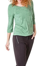 Yest Green Pocket Top - Product Mini Image