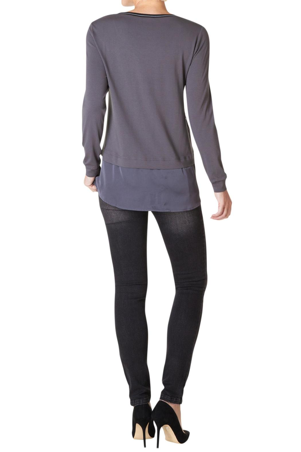 Yest Grey Multicolor Top - Front Full Image