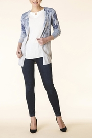 Yest Grey Print Cardigan - Product Mini Image