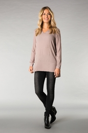 Yest Grommet High-Lo Tunic - Front cropped
