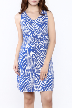 Shoptiques Product: Indigo Sleeveless Dress