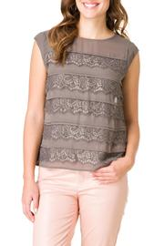 Yest Lacey Sleeveless Blouse - Product Mini Image