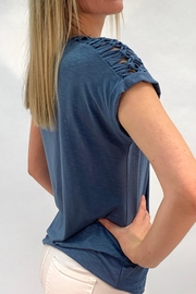 Yest Ladder Shoulder Top - Product Mini Image