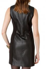 Yest Leather Fabric Dress - Front cropped