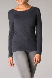 Yest Light Knit Sweatshirt - Front cropped