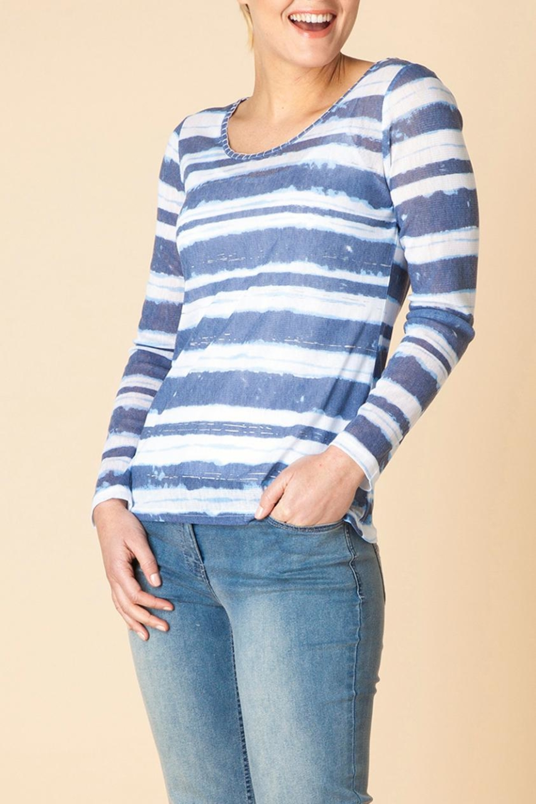 Yest Line Stripe Top - Main Image