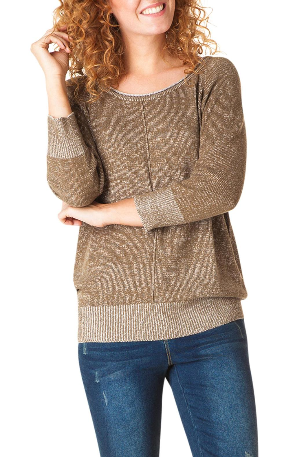 Yest Linear Knit Sweater - Main Image