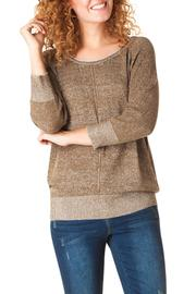 Yest Linear Knit Sweater - Product Mini Image