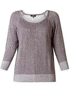 Shoptiques Product: Linear Knit Sweater