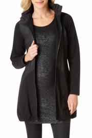 Yest Long Black Jacket - Product Mini Image