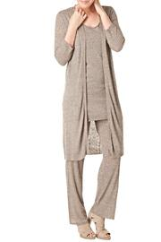 Yest Long Button Cardigan - Product Mini Image