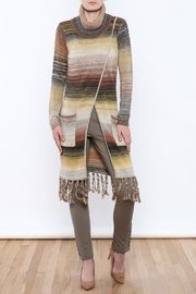 Yest Long Fringe Sweater - Product Mini Image