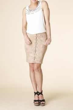 Shoptiques Product: Micro-Suede Skirt