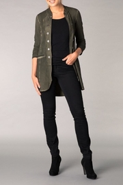 Yest Military Style Jacket - Front cropped