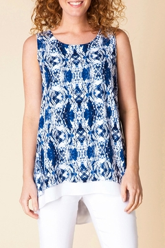 Shoptiques Product: Navy Pattern Tunic