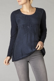 Yest Navy Star Top - Product Mini Image