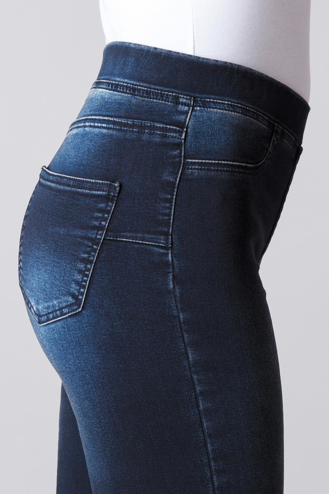 Yest Perfect Fit Jeans - Back Cropped Image