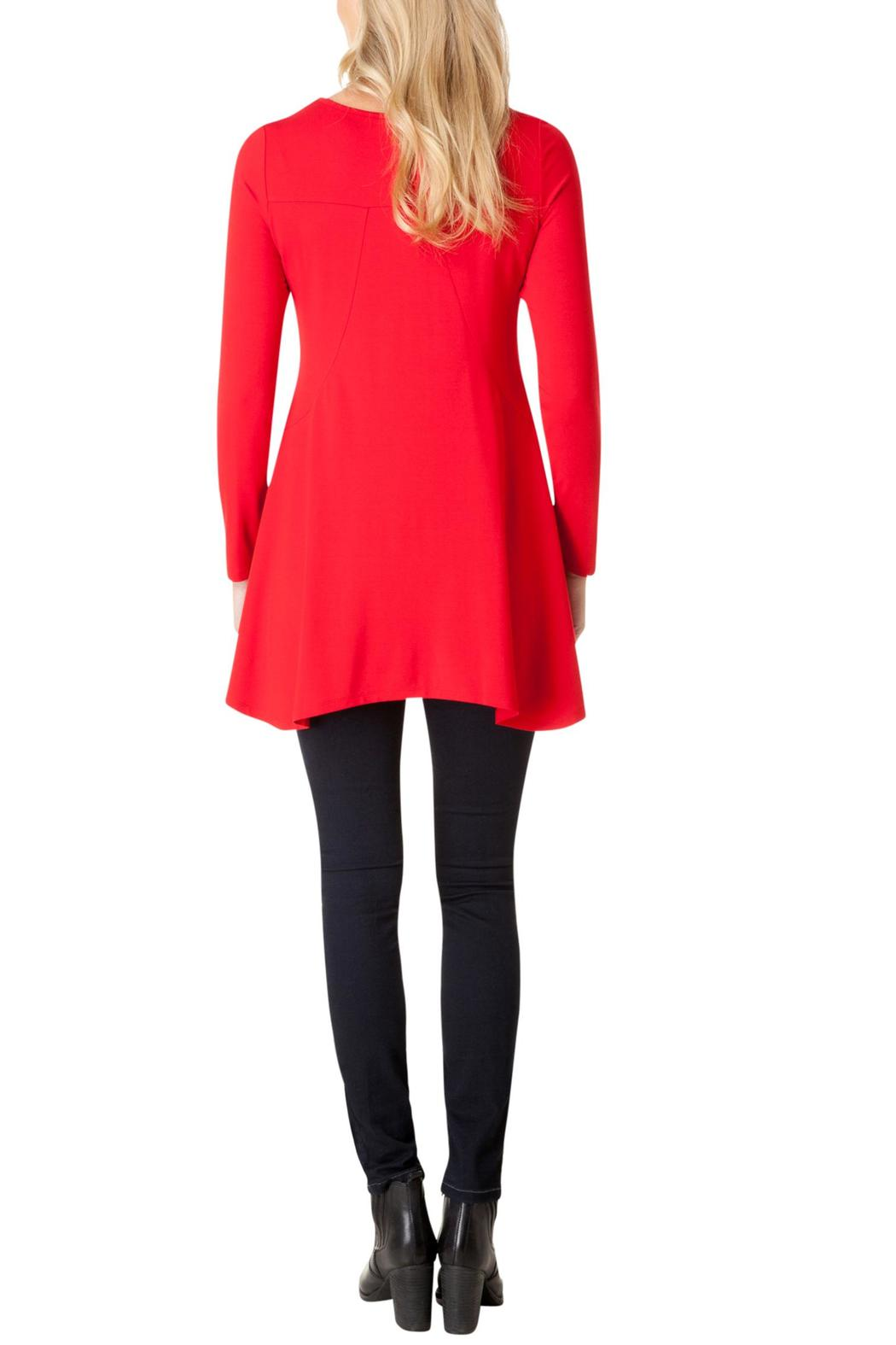Yest Perfect Red Tunic - Front Full Image
