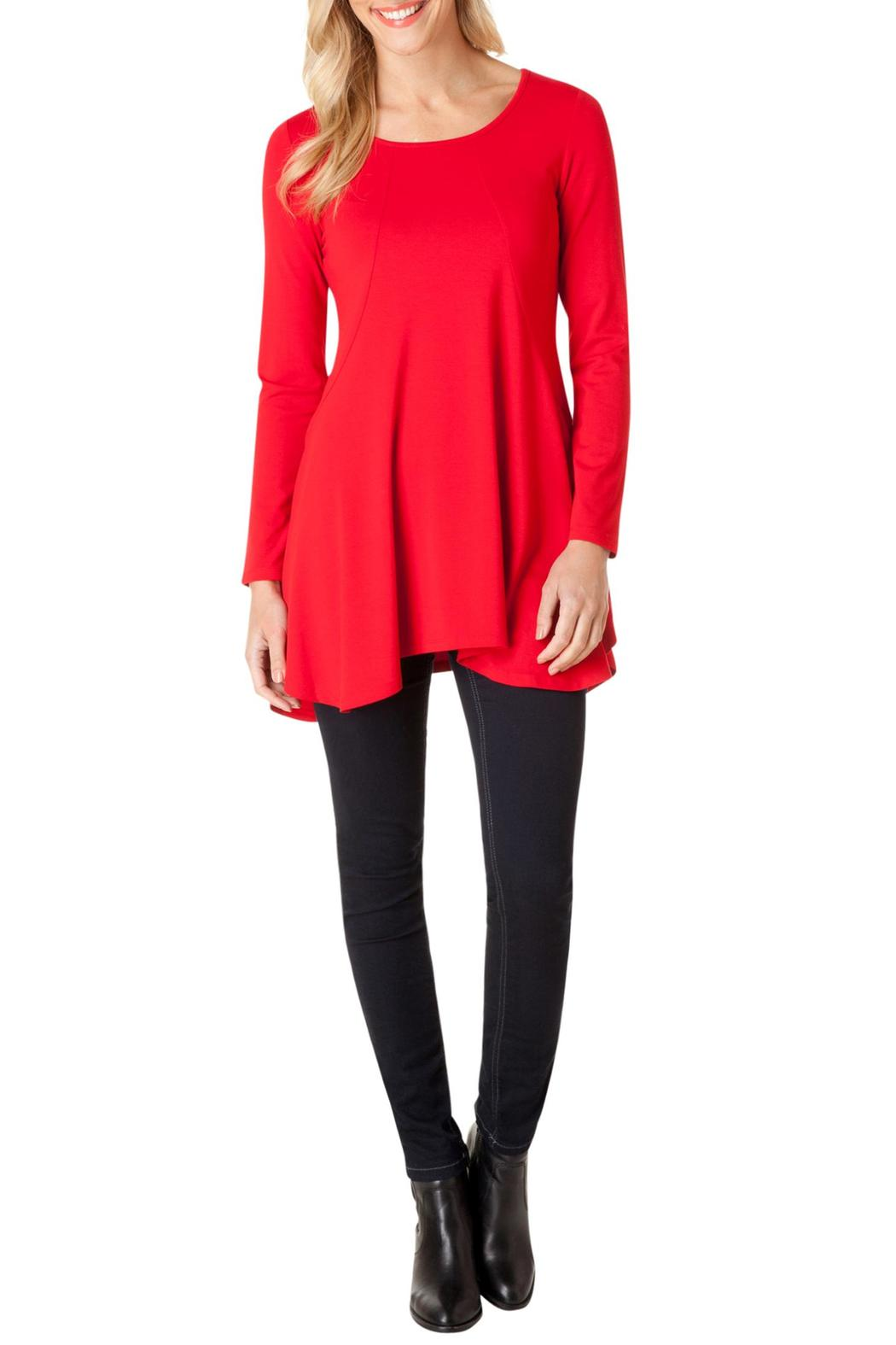 Yest Perfect Red Tunic - Main Image