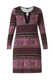 Yest Purple Pattern Dress - Product Mini Image
