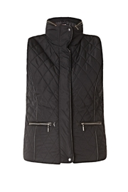 Yest Quilted Parka Vest - Product Mini Image