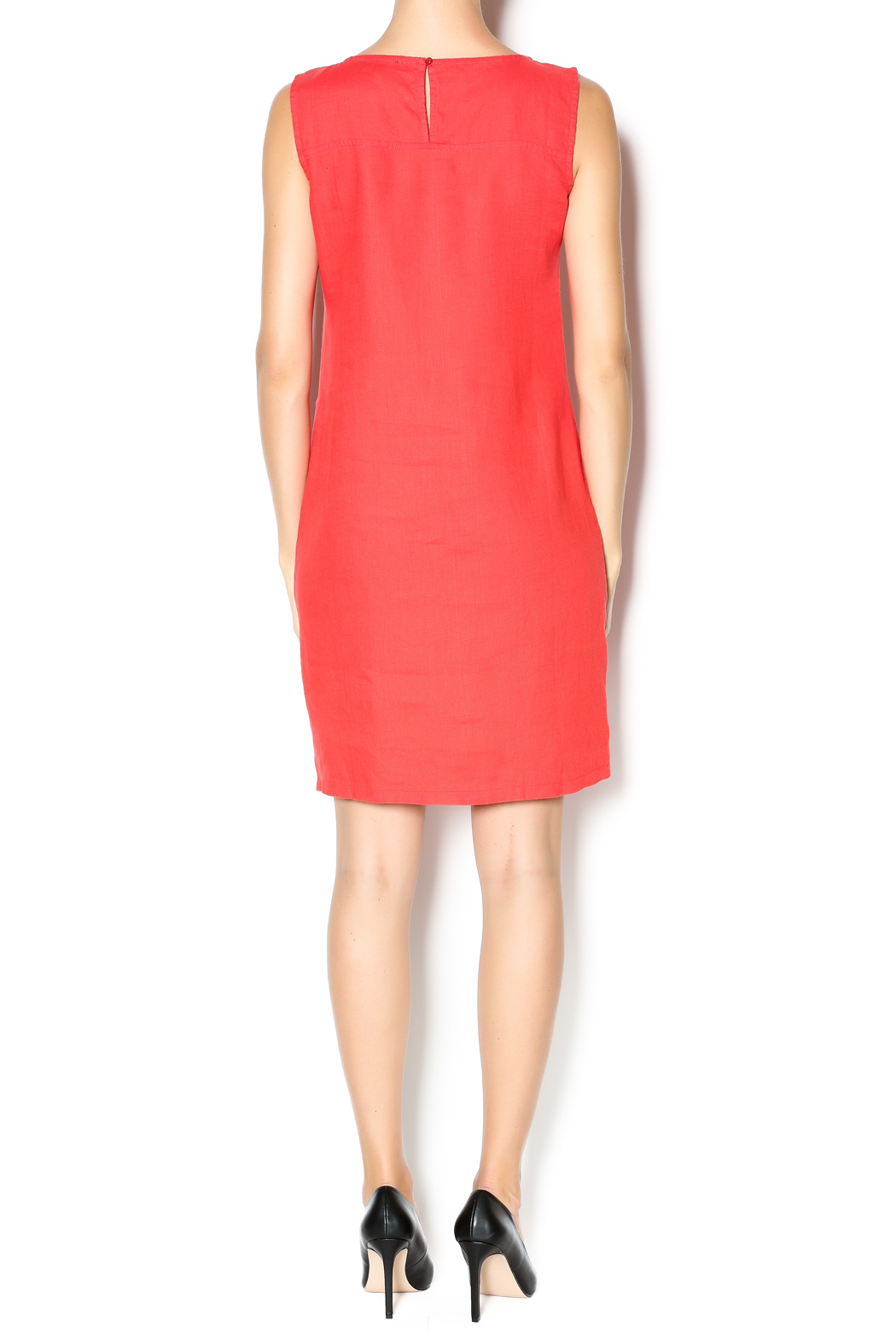 Yest Red Linen Dress from Maine by Bella Fiore — Shoptiques