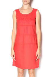 Yest Red Linen Dress - Product Mini Image