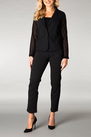 Yest Sheer Tuxedo Jacket - Product Mini Image