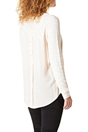 Yest Shimmer Holiday Top - Front full body