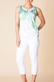 Yest Silky Zip Blouse - Product Mini Image