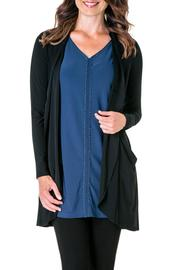 Yest Simple Black Cardigan - Product Mini Image