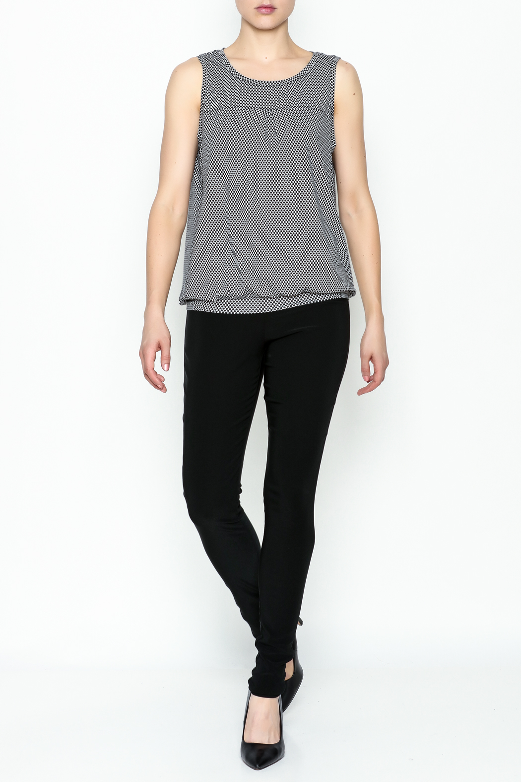 Yest Sleeveless Banded Top - Side Cropped Image