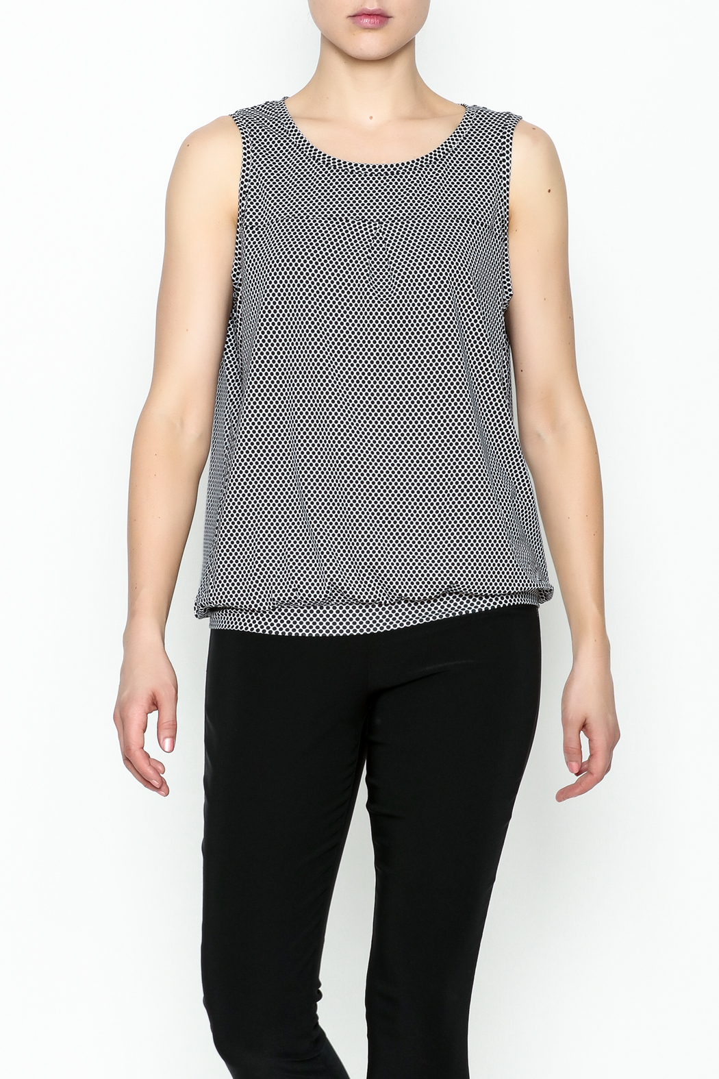 Yest Sleeveless Banded Top - Main Image
