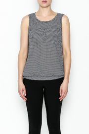 Yest Sleeveless Banded Top - Front full body