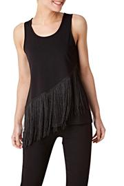 Yest Sleeveless Fringe Top - Product Mini Image