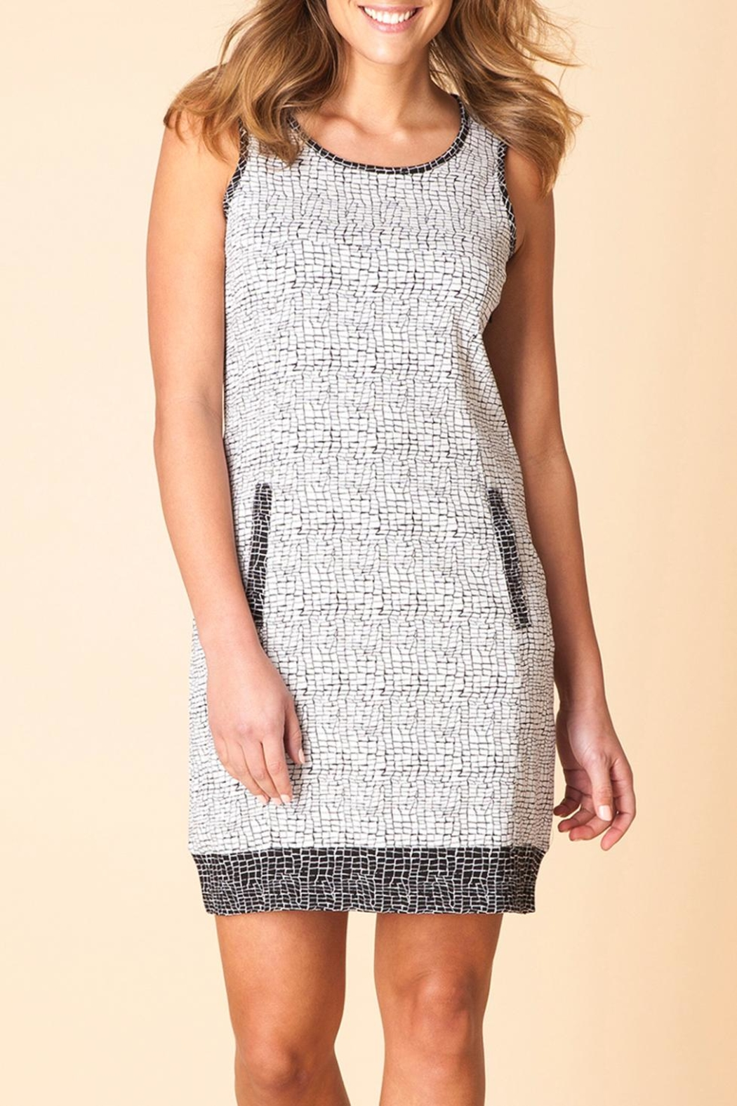 Yest Sleeveless Print Dress - Main Image