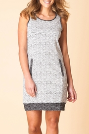 Yest Sleeveless Print Dress - Front cropped