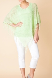 Yest Green Spring Poncho - Product Mini Image