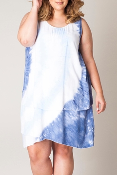 Shoptiques Product: Tiedye Layered Dress